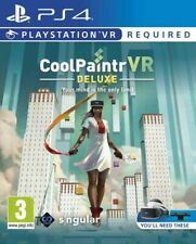 CoolPaintr VR Artist Deluxe Edition PSVR PS4 CoolPaint * NEW SEALED PAL *