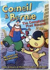 CORNEIL & BERNIE : Complete Season 1 One (DVD :3 DISC) 26 EPISODES - 4 HOURS !