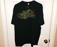 NINE INCH NAILS NIN Vintage 90s The Downward Spiral Logo T-Shirt Mens Size Large