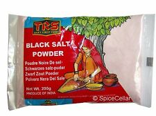 TRS Black Salt Powder Kala Namak 200g Cooking Ingredient Flavouring