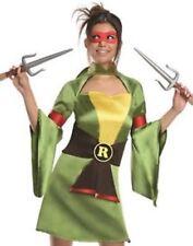 NEW Teenage Mutant Ninja Turtles Raphael Women's Adult Costume XS Extra Small