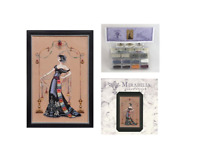 MIRABILIA Cross Stitch PATTERN and EMBELLISHMENT Pack AT THE MET MD135