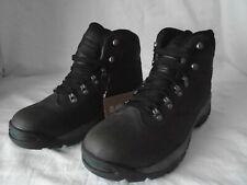 MENS HI-TEC OTTAWA WP CHOCOLATE/BROWN/BLACK WALKING UK 10 BOOTS HIKING CAMPING