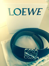 NEW LOEWE Made In Italy Leather Anagram Belt Size 42 in LOEWE box and dust bag