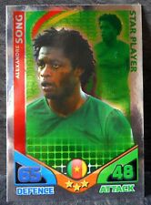 Alexandre Song Cameroon Star Player football trading card Topps 2010 World Cup