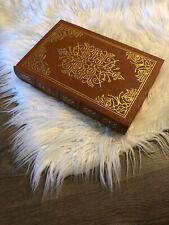 GULLIVERS TRAVELS BY JONATHAN SWIFT  EASTON PRESS LEATHER 100 GREATEST BOOKS