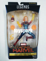 "IN STOCK HASBRO MARVEL LEGENDS 6"" inch CAPTAIN MARVEL BINARY FORM action figure"