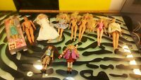Barbie & Friends Dolls Good Condition Lot of 10 Mostly 2009