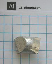 8 gram 99,9% aluminium metal nugget element 13 sample