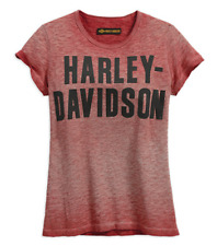 HARLEY-DAVIDSON® WOMEN'S APPLIQUE GRAPHIC JERSEY T-SHIRT 99051-18VW SMALL
