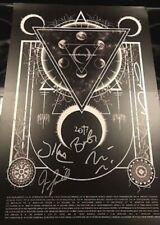 A Perfect Circle Autographed Poster Limited To Vip- Maynard James Keenan