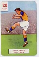 RARE Football Playing Card - Leeds United 1946-7