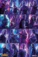 Avengers Infinity War Poster Heroes - Premium Filmplakat Hochformat 61 x 91,5 cm