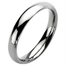 Highly Polished 5mm wide TITANIUM Wedding Ring / Band, size 7 -NEW- in Gift Box