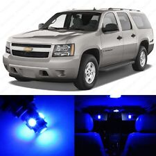 12 x Blue LED Interior Light Package For 2007 - 2014 Chevy Suburban + PRY TOOL