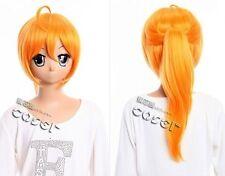 W-353 mayo chiki subaru Konoe cosplay anime manga peluca Wig calor fijo Orange