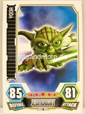 Yoda  #004 - Force Attax Serie 3