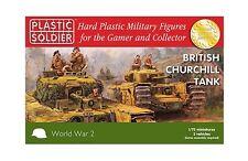 Plastic Soldier Company BNIB 1/72nd Churchill Tank WW2V20017