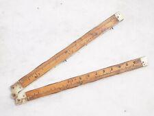 RARE pied de Roy XVIIIième siècle en buis avec armatures cuivre - en cm et Inch