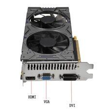 NVIDIA GeForce GTX 1050 Ti 4GB GDDR5 Gaming-Grafik Grafikkarte HDMI/VGA/DVI GT