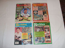 Rarities Collectibles Magazine Lot of 4 1981/1983 Elvis Baseball Cards Beer Can