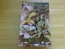 Rare Copy Of Wolverine Origins: Seven The Hard Way Tpb Graphic Novel! Marvel!