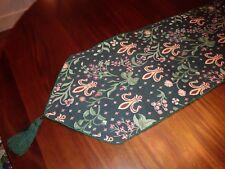 Tapisserie Tapestry Table Runner Renaissance Woven Art 13x104 Extra Long NEW