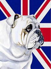 Bulldog Union Jack British Rétro Plaque Métal/signe, pub, bar, Man Cave,