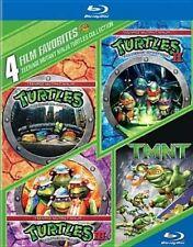 Teenage Mutant Ninja Turtles Collection 4 Film Favorites Region 1
