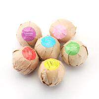 60g Bath Salt Bombs Balls Whitening Moisture Essential Oil Body Scrub Natural
