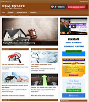 REAL ESTATE Website Business For Sale - Work From Home & Easy To Manage Website