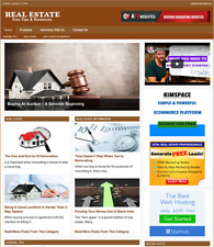 Real Estate Website Business For Sale Work From Home Amp Easy To Manage Website