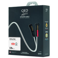 QED Signature Revelation Speaker Cable Quality Loudspeaker Lead - 2.0 Metre Pair