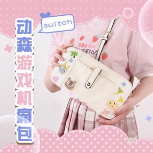 Animal Crossing New Horizons PU Messenger Bags Game Machine Itabag Storage bag