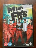 Misfits Saison 4 DVD Coffret Comédie Britannique Série Neuf en Boîte