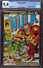 Incredible Hulk # 169 CGC 9.4 White (Marvel 1973) 1st appearance Bi-Beast
