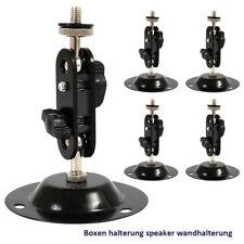 5x Speaker Bracket Wall Mount Box Logitech For Z103 Z906 Z55 PIONEER HTP-071 NEW