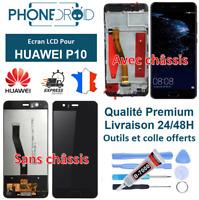 Écran complet LCD + tactile Huawei P10 Noir + Outils, stock FR