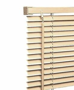 PVC Venetian Blinds Easy Fit Trimable Home Office Window Blind All Size & Colors