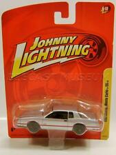 1987 '87 CHEVY MONTE CARLO SS SILVER JOHNNY LIGHTNING JL R12 DIECAST ULTRA RARE