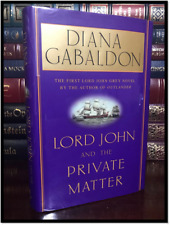 Lord John & the Private Matter ✎SIGNED✎ by DIANA GABALDON New Hardback 1st Print