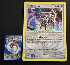 Arceus DP50 JUMBO PROMO Pokemon Card RARE HOLO Near Mint