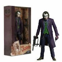 Action Figure THE JOKER HEATH LEDGER DC COMICS PVC Collectable Toys 18cm 7inch
