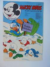 1x Comic -Micky Maus Nr. 6 - 1974 - Walt Disneys - Z. 1-2
