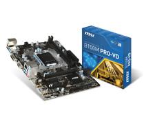 MSI B150M PRO-VD, LGA 1151, Intel Motherboard