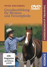Grundausbildung für Western- und Freizeitpferde Horsemanship Training DVD Vide..