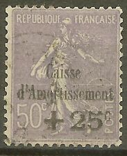 """FRANCE STAMP TIMBRE N° 276 """"CAISSE AMORTISSEMENT SEMEUSE 50c 1931"""" OBLITERE TB"""