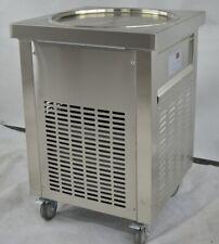 ETL 20''(50cm) Single round pan fried ice cream machine rolled ice cream machine