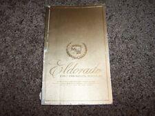 1982 Cadillac Eldorado Owner User Guide Operator Manual 4.1L 5.7L V6 V8 Diesel