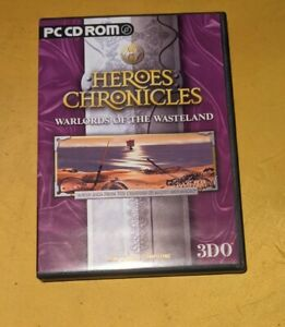 Heroes Chronicles Warlords of the Wasreland PC game vgc